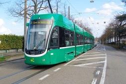 transport en commun tram ville Bale