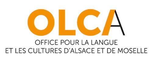 Logo OLCA Office pour la Langue et les Cultures d'Alsace et de Moselle