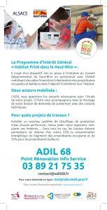 flyer _adil 68_ rénover logement mal isolé Saint-Louis Agglomération
