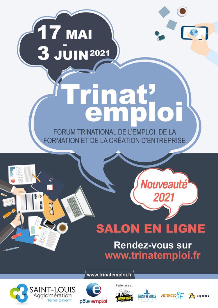 Salon en ligne Trinat'Emploi du 17 mai au 3 juin 2021