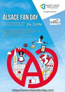 Affiche Alsace Fan Day 24 juin 2021