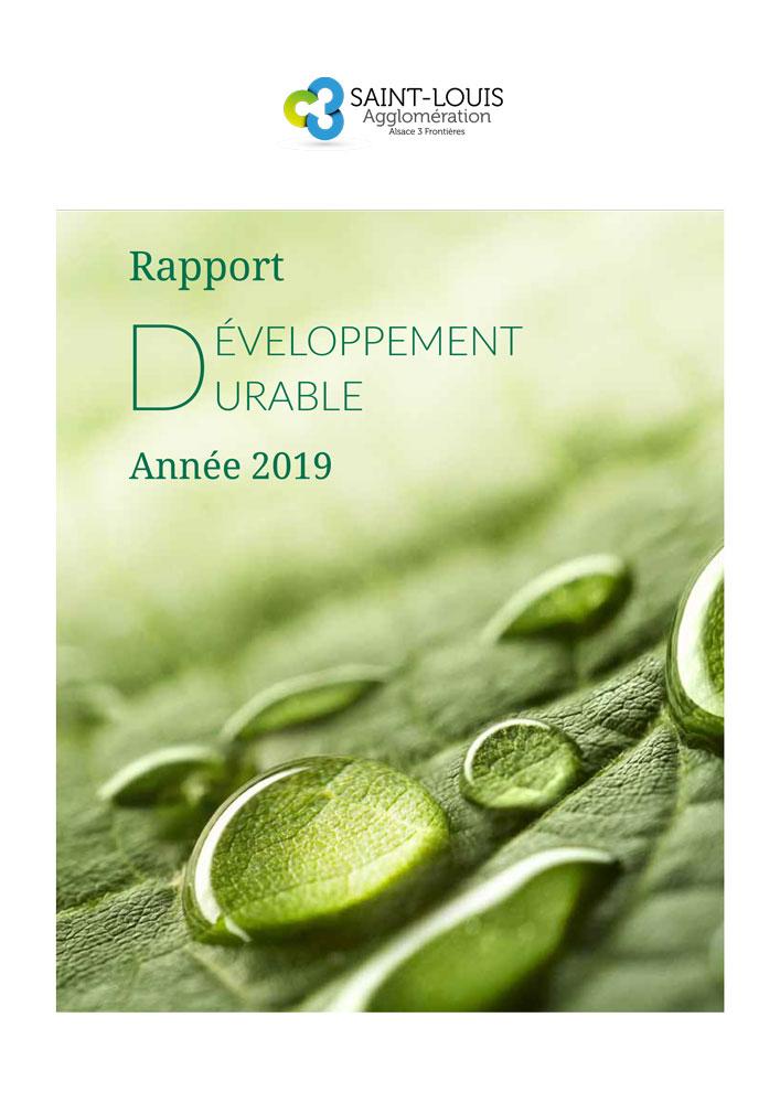 Rapport développement durable année 2019