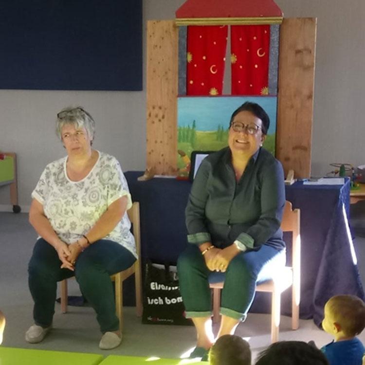 Promotion de l'alsacien : intervention petite enfance