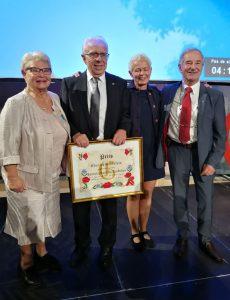 Promotion de l'alsacien : remise de prix à l'écrivain et poète Alsacien Yves BISCH
