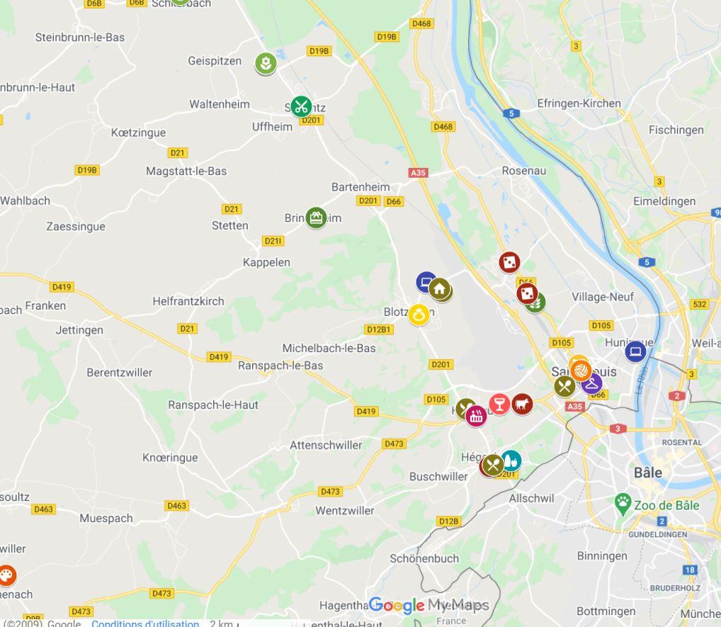 LAlsace et DNA : carte des commerces ouverts pendant le confinement