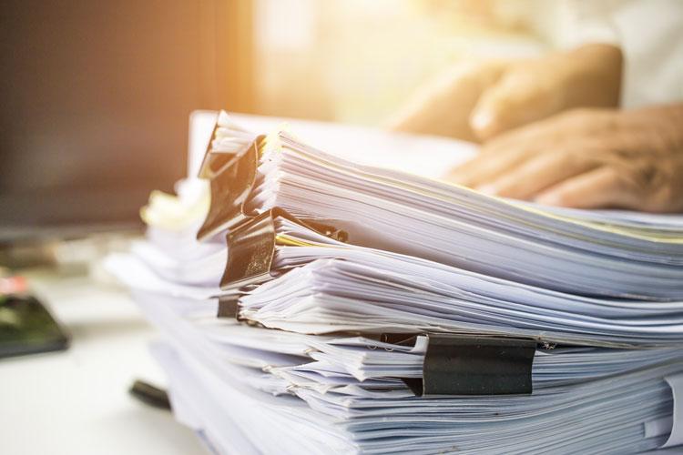 Réduction de déchets : Au travail ou à l'école, je fais attention à ma consommation de papier !