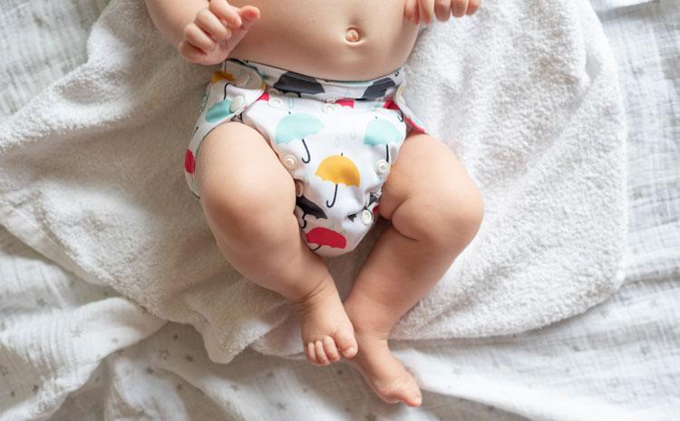 Couche lavable pour bébés