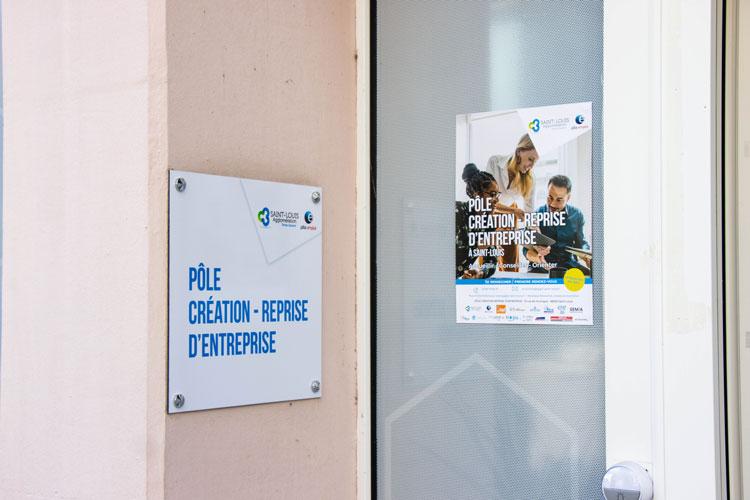 Inauguration du pôle création-reprise d'entreprise mardi 7 septembre 2021