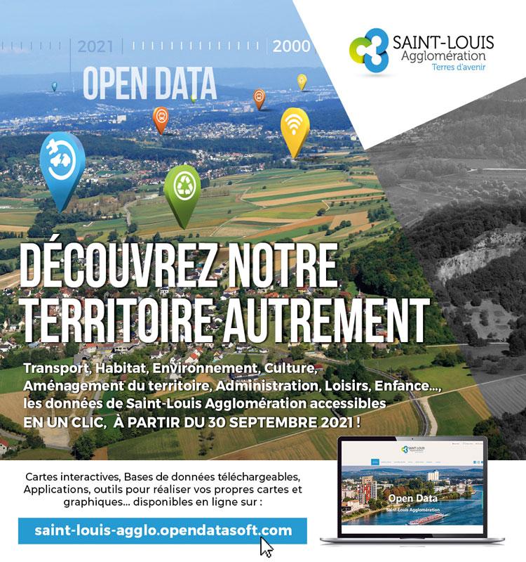 Lancement du portail Open Data de Saint-Louis Agglomération jeudi 30 septembre 2021